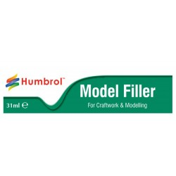 Humbrol Model Filler, spatelmasse til modelbrug. tube med31 ml.