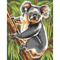 Mal efter tal, koala. Reeves PPNJ55