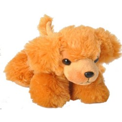 Golden retriever. Blød hund, beanbag, 18 cm
