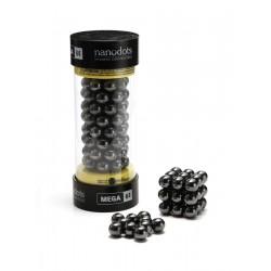 Nanodots, MEGA. Store magnetkugler af keramisk ferrit, 64 styk sort