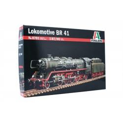 BR 41. Tysk damplokomotiv, byggesæt. H0, 1:87. Italeri 8701