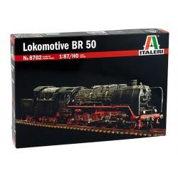 BR 50. Tysk damplokomotiv, byggesæt. H0, 1:87. Italeri 8702