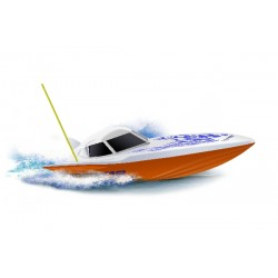 Fjernstyret speedbåd. Viper V12. 15 km/h. 27 MHz. Sejlklar.