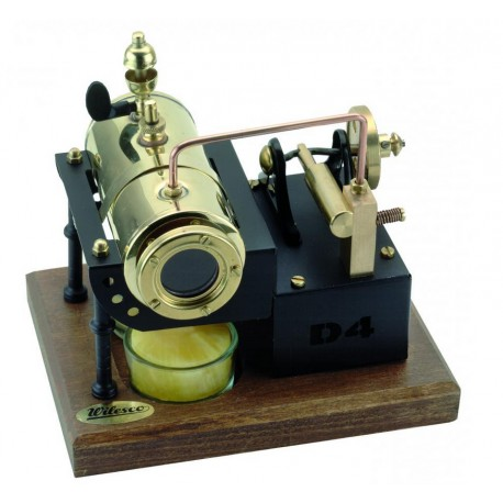 Dampmaskine til stearinlys. Wilesco D 4