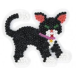Stiftplade, kat, killing, 11,5x13 cm, HAMA Midi perler