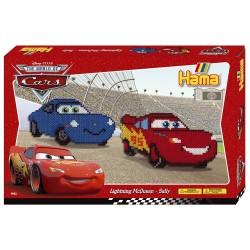 Disney Cars, Lynet McQueen og Sally, 4000 HAMA midi perler