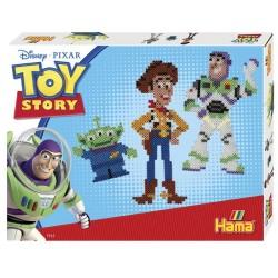 Disney Toy Story, Woody, Buzz og rumvæsen, 4000 HAMA midi perler