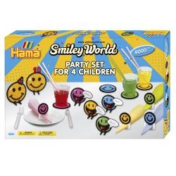 Smiley World, festsæt til børn, 4000 HAMA midi perler