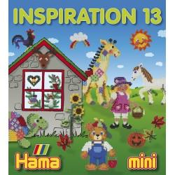 HAMA inspirationshæfte, nr 13, HAMA mini perler