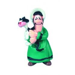 Mor Dalton, flot, detaljeret figur fra Luck Luke, samlerobjekt