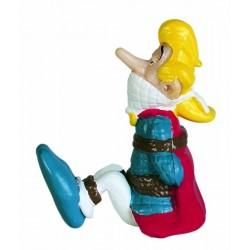 Trubadourix, bundet, flot, dekorereret figur fra Asterix, samlerobjekt