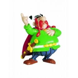 Majestix, flot, dekorereret figur fra Asterix, samlerobjekt