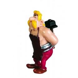 Armamix, smed med mukkert, flot, dekorereret figur fra Asterix, samlerobjekt