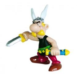 Asterix med dolk, flot, dekorereret figur fra Asterix, samlerobjekt
