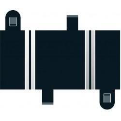 Lige banestykker, korte, 78 mm, 2 stk, Scalextric
