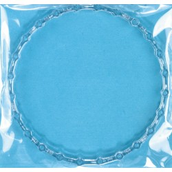 Uroring, klar plast, 16 cm, HAMA midi perler